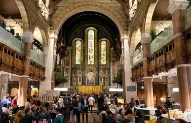 Test Driving Mercato Mayfair - the glamorous new food hall in a Grade I listed church