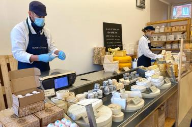 Neal's Yard has opened a cheese pop-up in Islington (with a permanent shop to come)