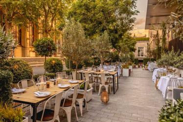 The Berkeley unveil The Garden restaurant - an alfresco haven in Knightsbridge