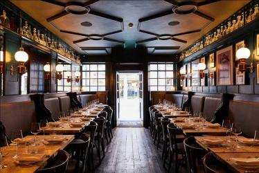 Noble Rot Soho sees the Noble Rot team take over The Gay Hussar for their second restaurant