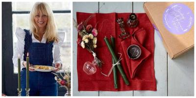 You can now order Clodagh McKenna table settings from Deliveroo