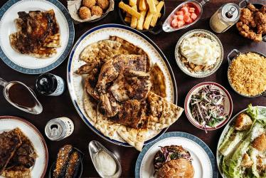 Blacklock kick off a hot food delivery service - with buns, chops, nuggets and charcoal grilled chicken