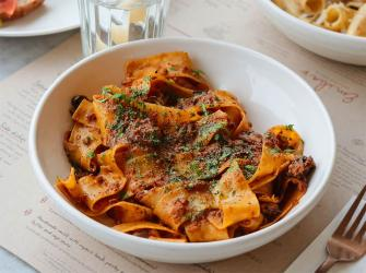 Emilia's Crafted Pasta is opening in Canary Wharf's Wood Wharf