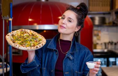 Jessie Ware and Yard Sale team up for a new special pizza