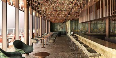 Canopy by Hilton London City is bringing a huge rooftop restaurant to Aldgate