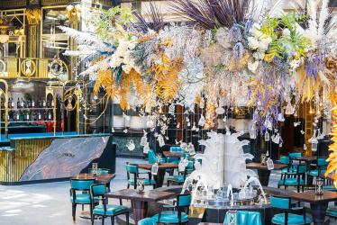 First look - The Savoy steps outside for its Solas pop-up in the hotel entrance