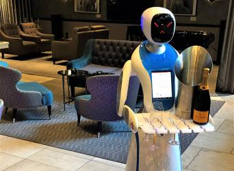 M Restaurants brings in Champagne robots for Christmas
