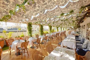 Selfridges' alto rooftop restaurant gets a Dior makeover for summer