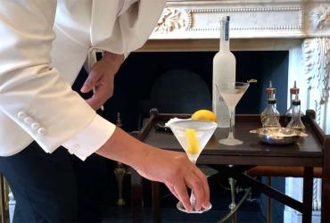 Trying The Egerton Slurp - a masterclass in martini making at The Egerton House Hotel