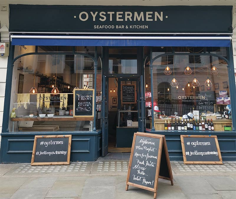 The Oystermen have launched a shop that delivers across London