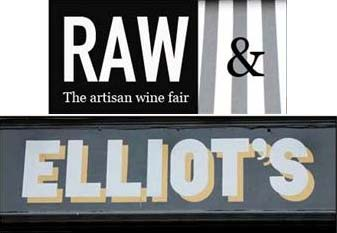 Elliot's and Raw launch natural wine burger bar