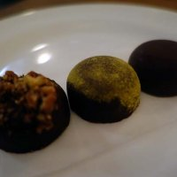 Rolos: Salted Caramel, Passion Fruit, Bourbon and Pecan