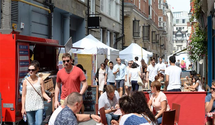 Street food takes over Carnaby for Carnaby Street Eat