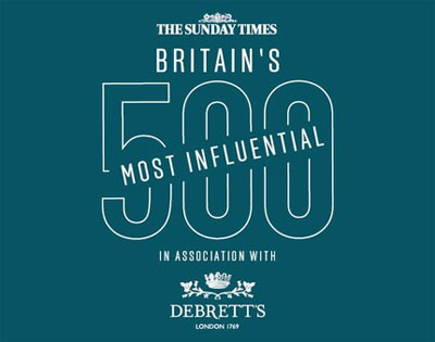 The Sunday Times and Debrett's reveals its most influential food and drink names