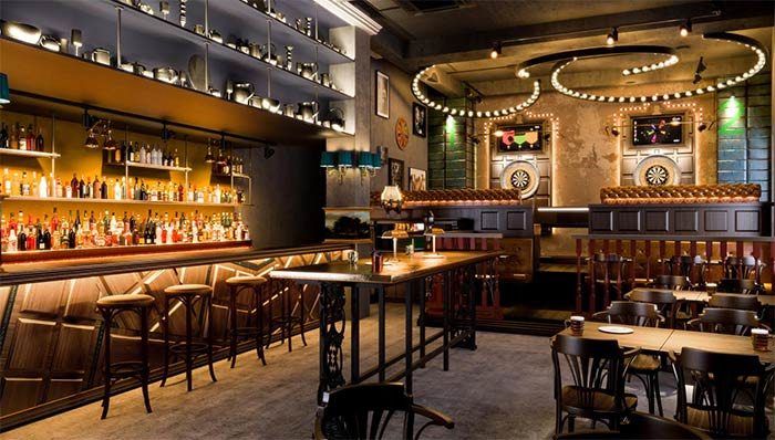 Darts themed bar Flight Club comes to Finsbury Square