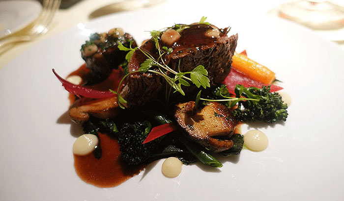 Beef at Le Manoir