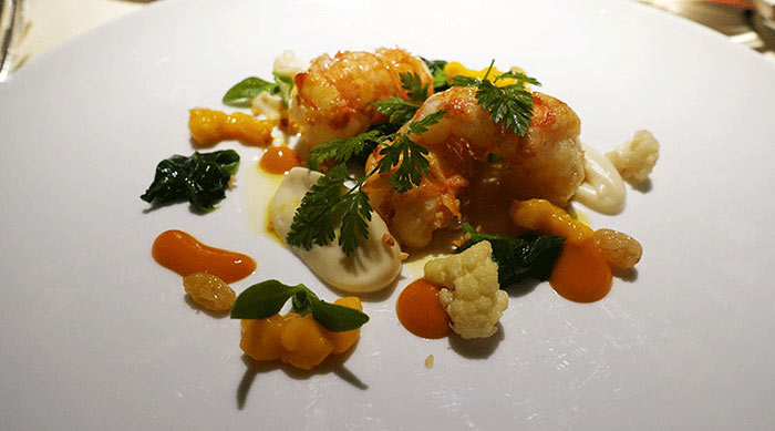 Lobster at Le Manoir