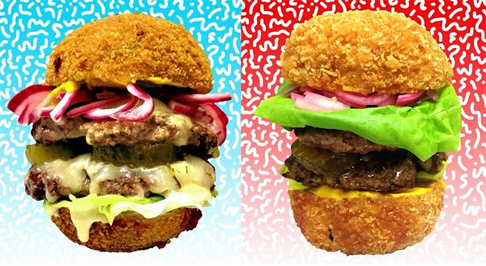 Yeah burger launches Scotch egg burgers
