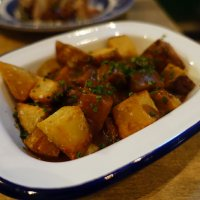 Fried potatoes – japanese curry sauce