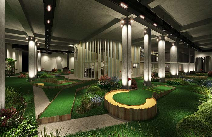 Swingers crazy golf is coming back to the City