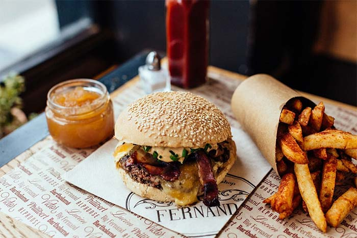 Big Fernand are bringing out a VERY French burger