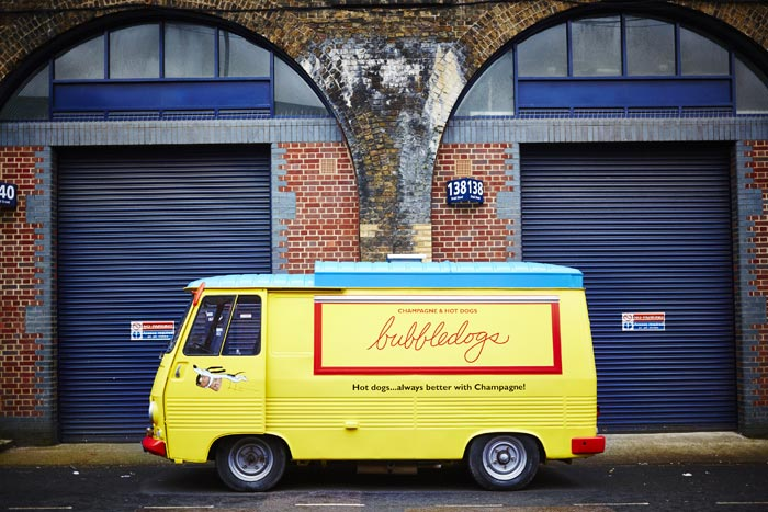 Bubbledogs van
