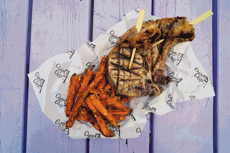 Chop and Chip go permanent at Camden Market