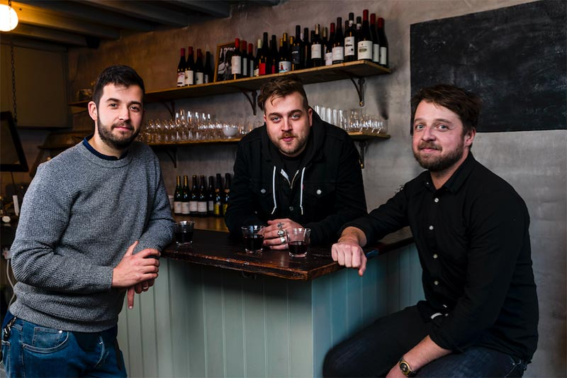 Hackney's got a new smallest wine bar, thanks to the Pidgin duo