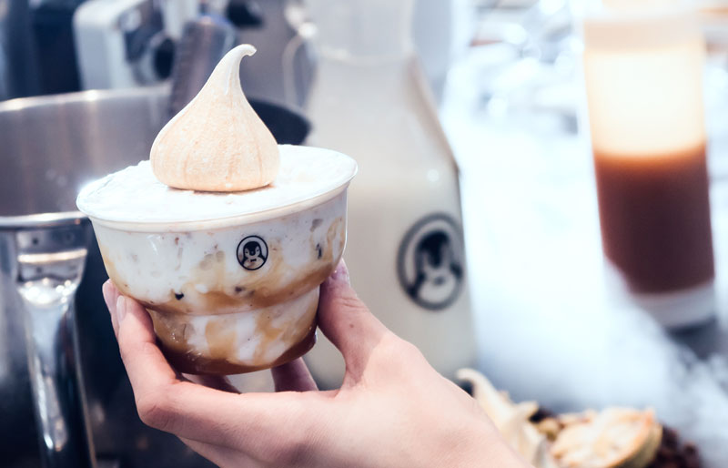 Four Winters opens a nitro ice cream bar in Soho with mince pie ice cream