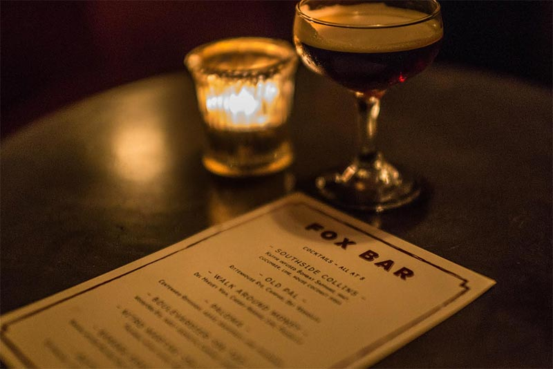 Fox Bar is bringing espresso martinis on tap to Brixton