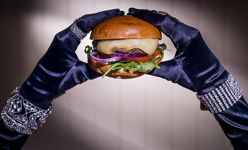 Meat meets chic at Haché's fashion-themed burger pop up