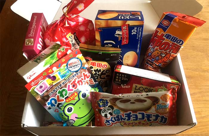 Japan Centre launch a snack-box by post service