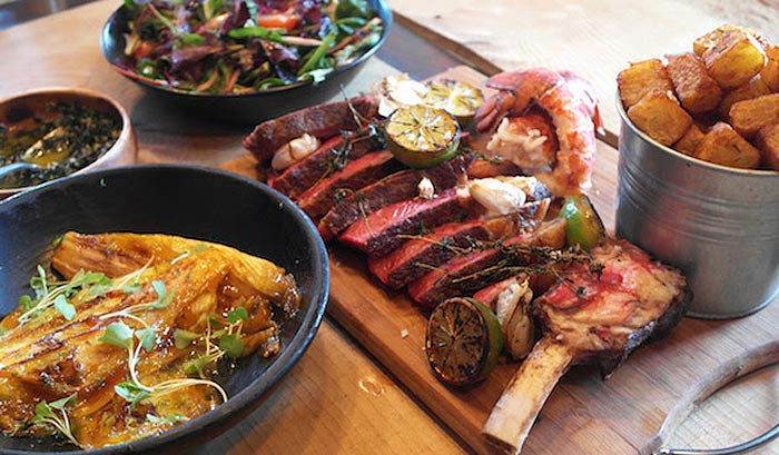 Surf and Turf is up in Clapham - a new pop-up from Jimmy Garcia