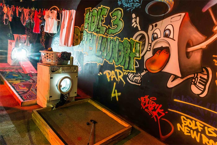 Junkyard Golf brings crazy Golf to the Truman Brewery