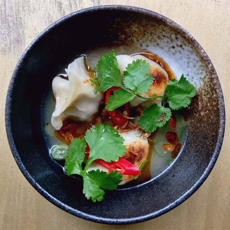 Mamalan Shoreditch start dumpling takeovers with Dan Doherty