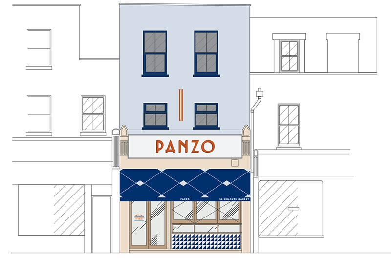 Neapolitan pizza restaurant Panzo is coming to Exmouth Market