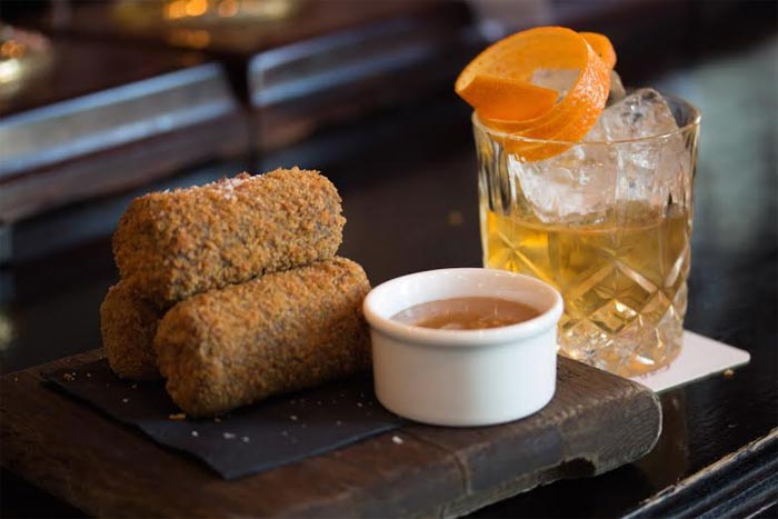 Squirrel croquettes come to the menu at the Jugged Hare