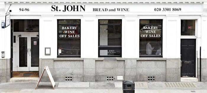 St John Bread and Wine is getting a new bar