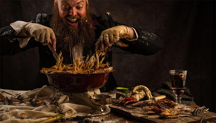 Roald Dahl's Dinner with the Twits is coming to Waterloo from Bompas & Parr