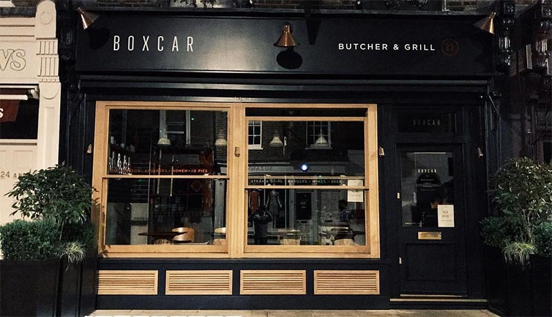 Boxcar Butcher & Grill brings ethical meat to Marylebone