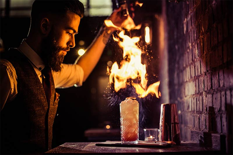 Brick & Liquor mixes cocktails and sharing plates in Clapham