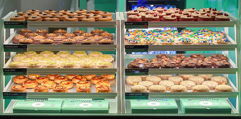 Doughnut Time's second branch opens in Old Street