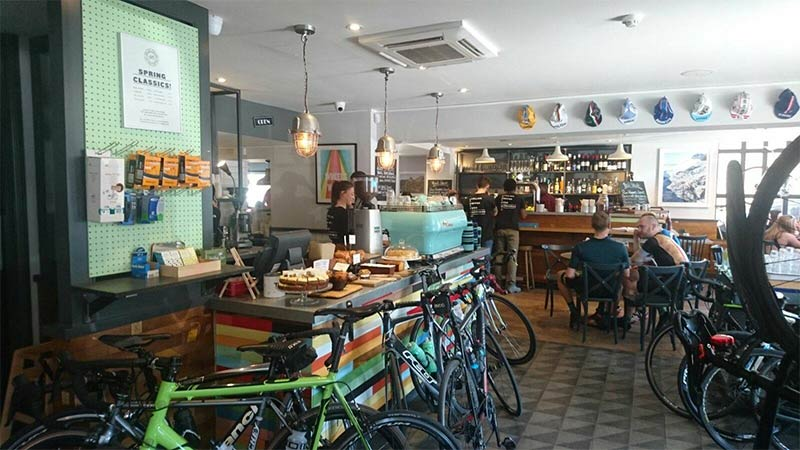 Grab a bite and sort your bike at Dynamo's new Balham base