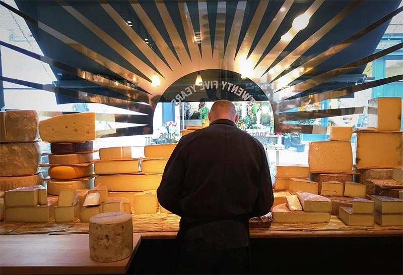 La Fromagerie is bringing cheese to Bloomsbury with their latest spot