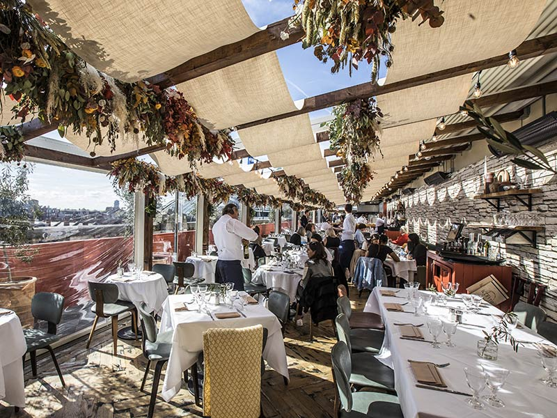 Il Tetto sets up as Selfridges' newest rooftop restaurant with a former L'Anima chef
