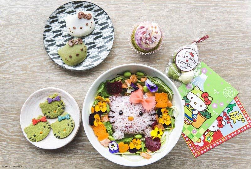 The Hello Kitty cafe is back in London - popping up at Tombo Fitzrovia