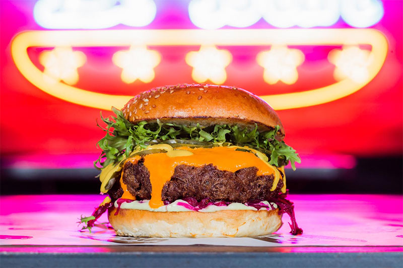 Le Bun extend their stay at Birthdays adding a F**king Vegans burger