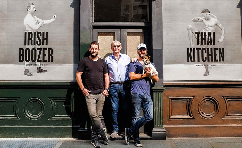 Mc & Sons is Southwark's new Irish boozer with a Thai kitchen