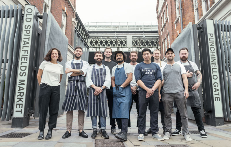 Old Spitalfields Market will feature Breddos, Berber and Q, Rok and more...