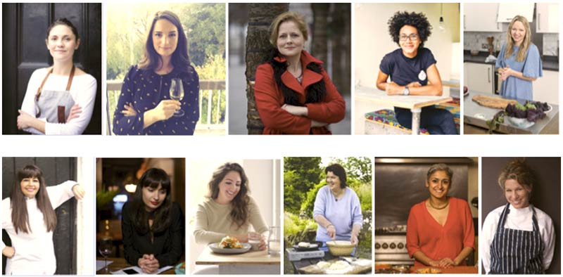 The Severn Sisters feast is a female food and drink team-up in Borough Market